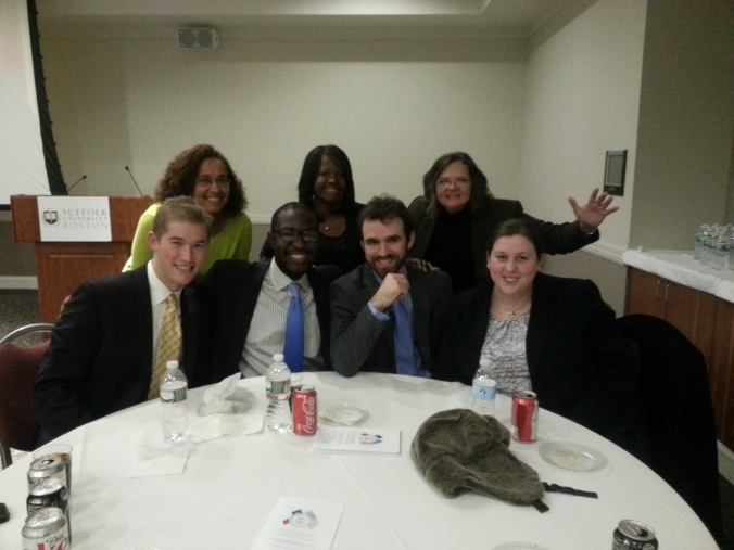 The Mock Trial Team @ Regionals