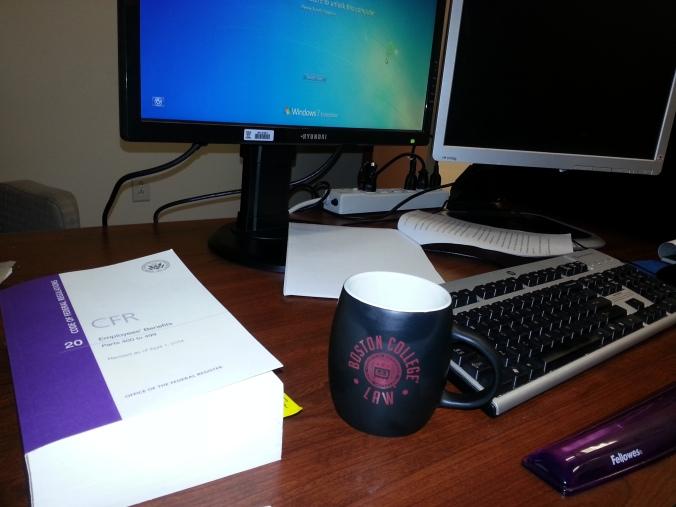Ron's Work Desk