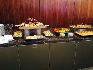 The spread at a BC Law Admitted Students reception