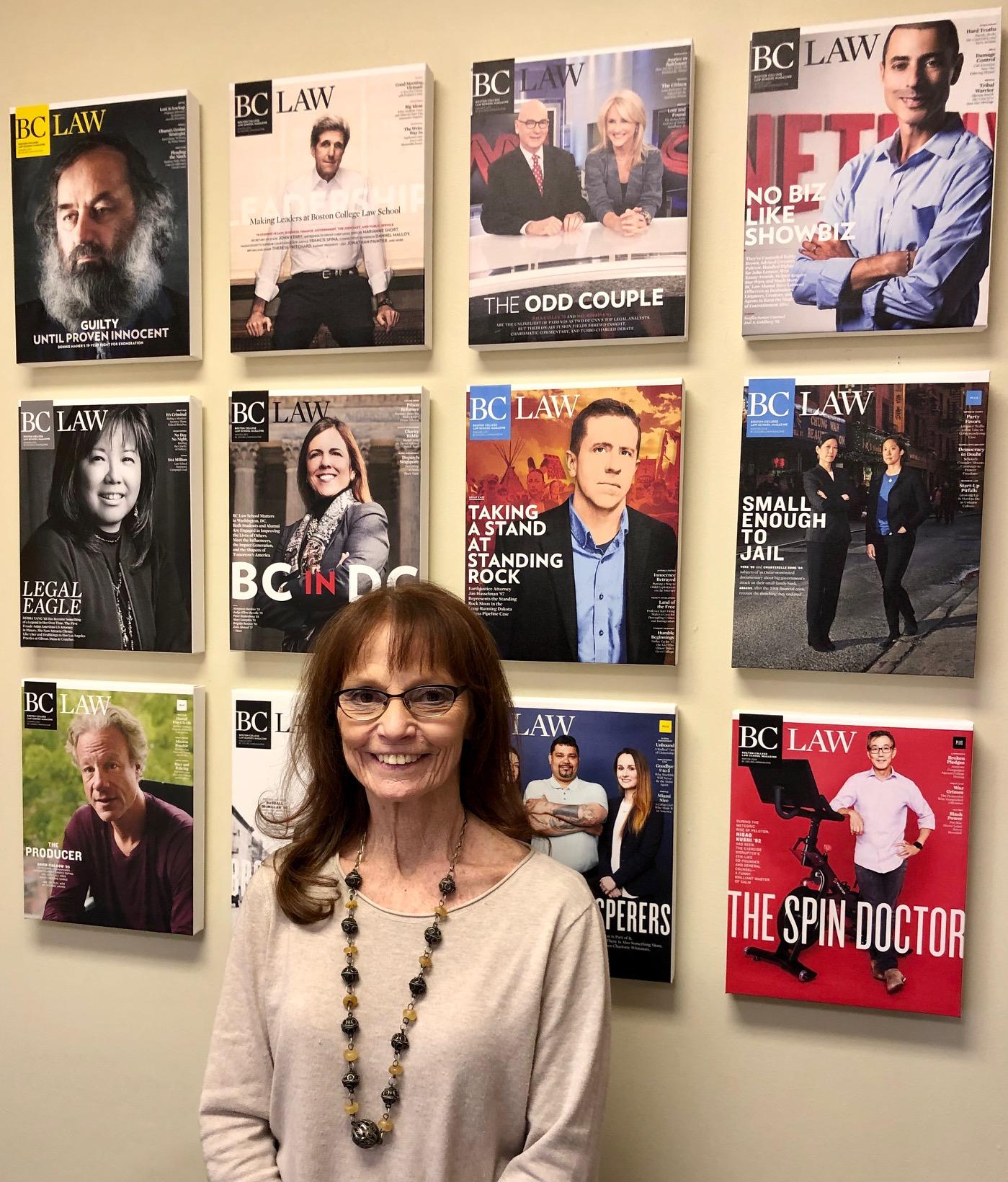 Magazine editor Vicki Sanders