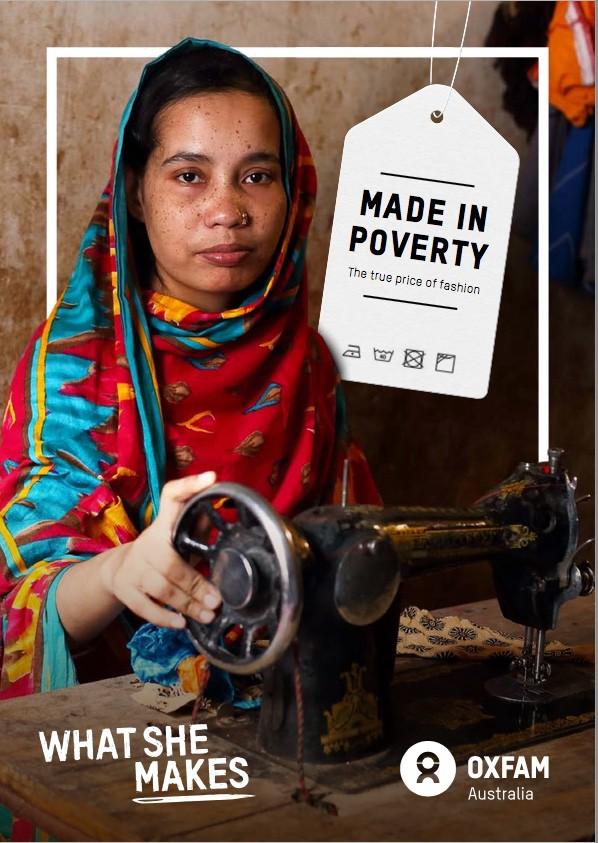 Garment worker, Bangladesh. Credit: Oxfam Australia