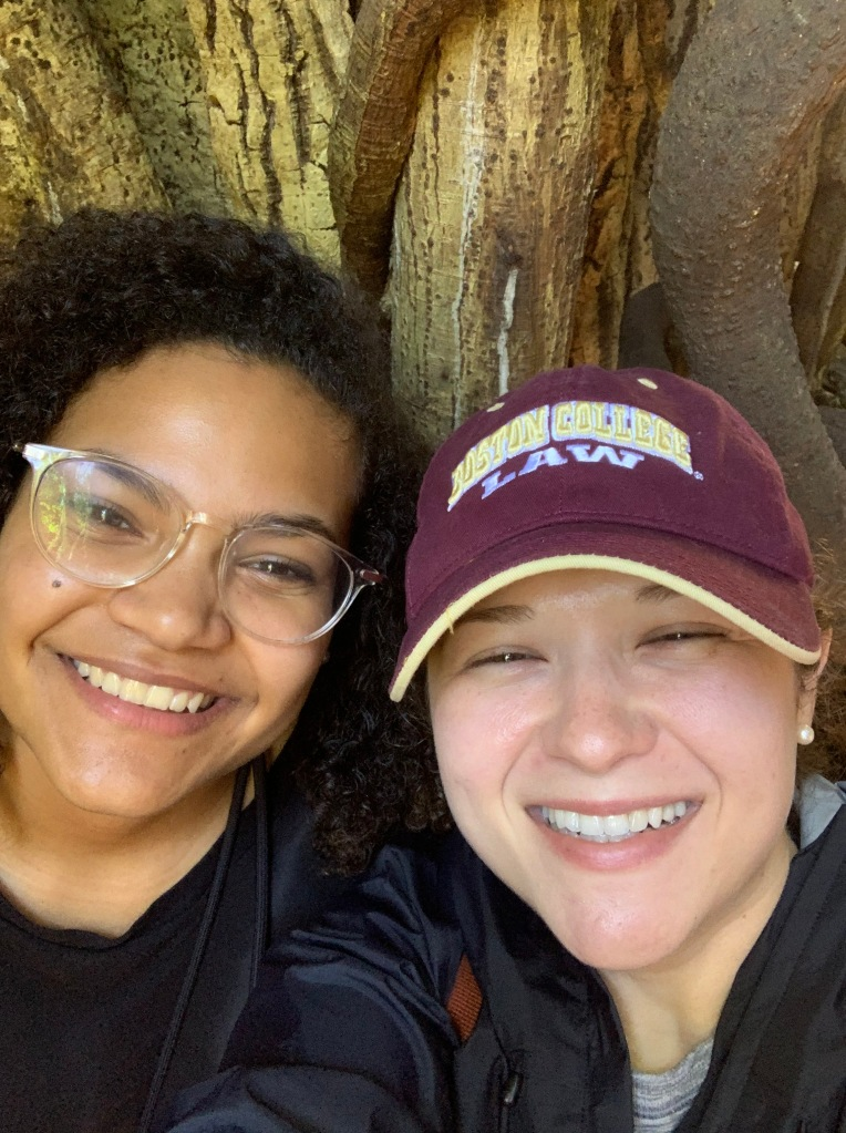 Nadia Bouquet and me at the Curi Cancha Wildlife Refuge in Monte Verde, Costa Rica during our trip in March, 2020